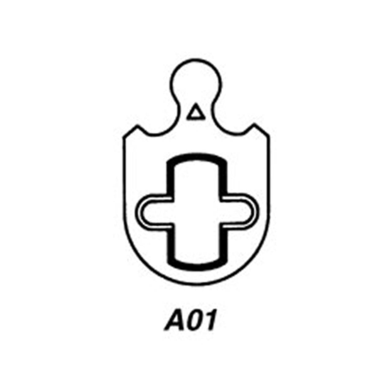 CR1000-114-A01-6-60-605 Corbin Conventional Mortise