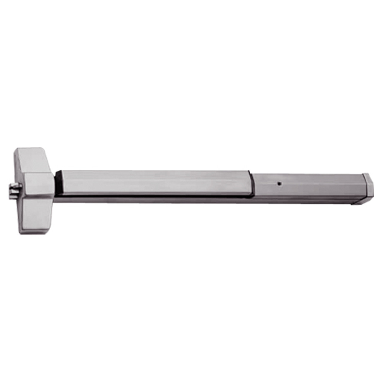 7150-24-630 Yale 7000 Series Non Fire Rated SquareBolt Exit Device in Satin Stainless Steel
