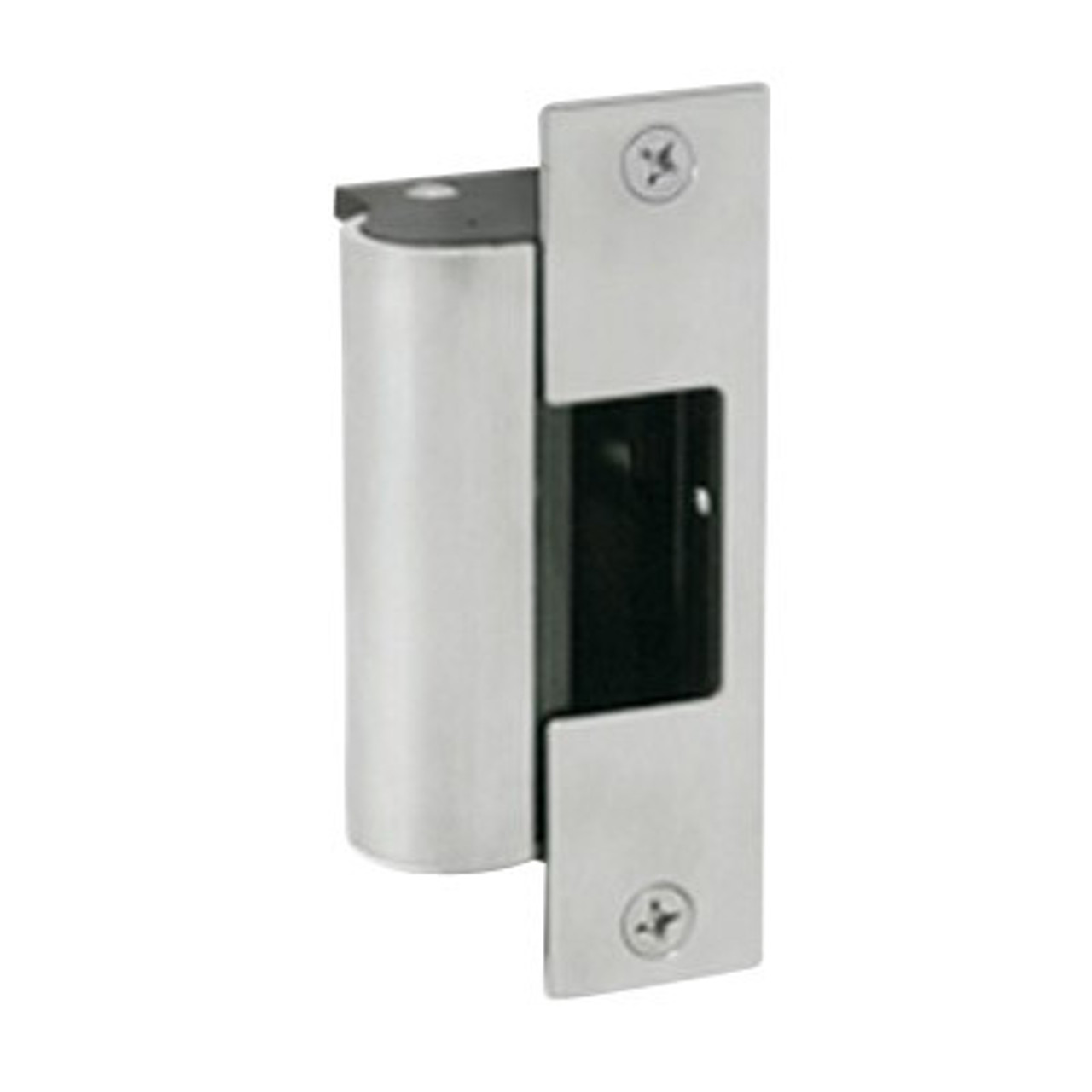 1006CDB-F-630 Hes 1006 Series Complete Electric Strike for Deadbolt Lock in Satin Stainless Finish