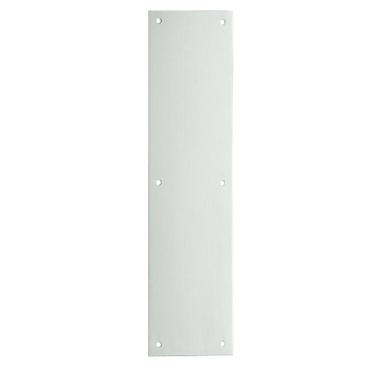 8200-US15-3-5x15 IVES Architectural Door Trim 3.5x15 Inch Push Plate in Satin Nickel