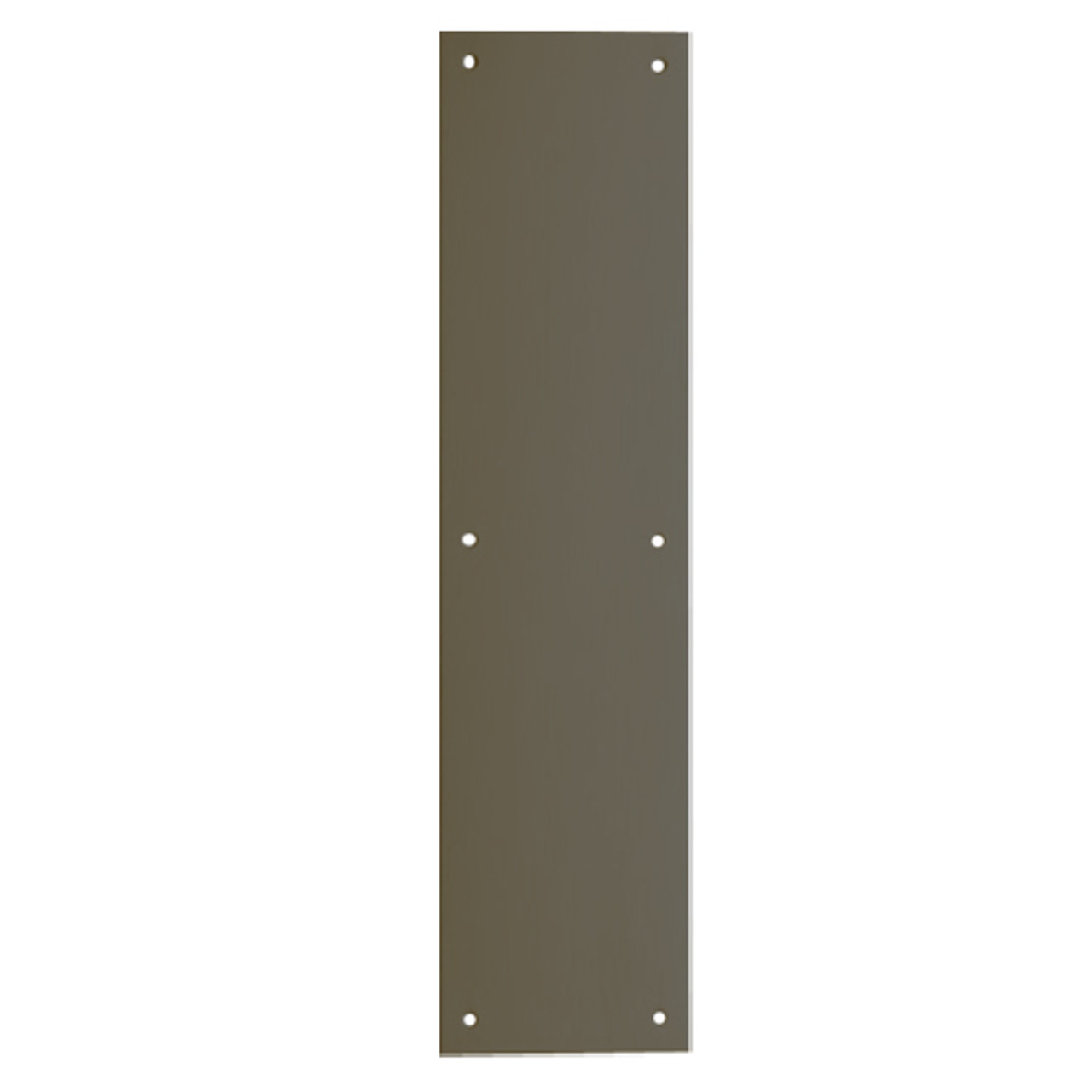 8200-US10B-6x16 IVES Architectural Door Trim 6x16 Inch Push Plate in Oil Rubbed Bronze