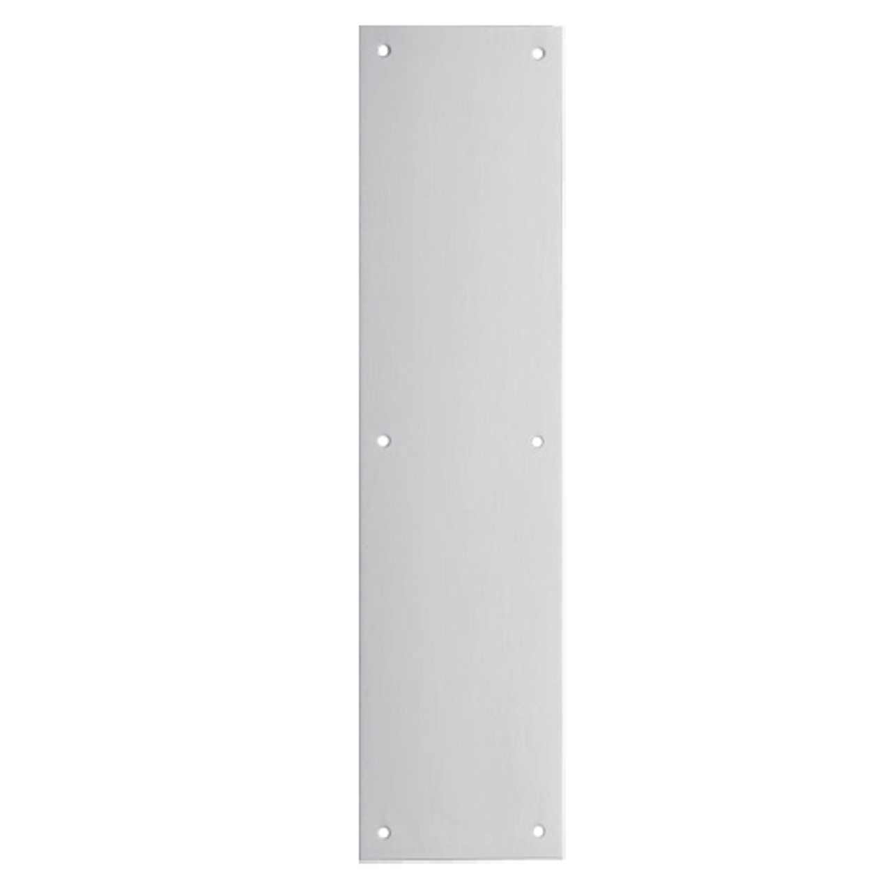 8200-US26D-6x16 IVES Architectural Door Trim 6x16 Inch Push Plate in Satin Chrome