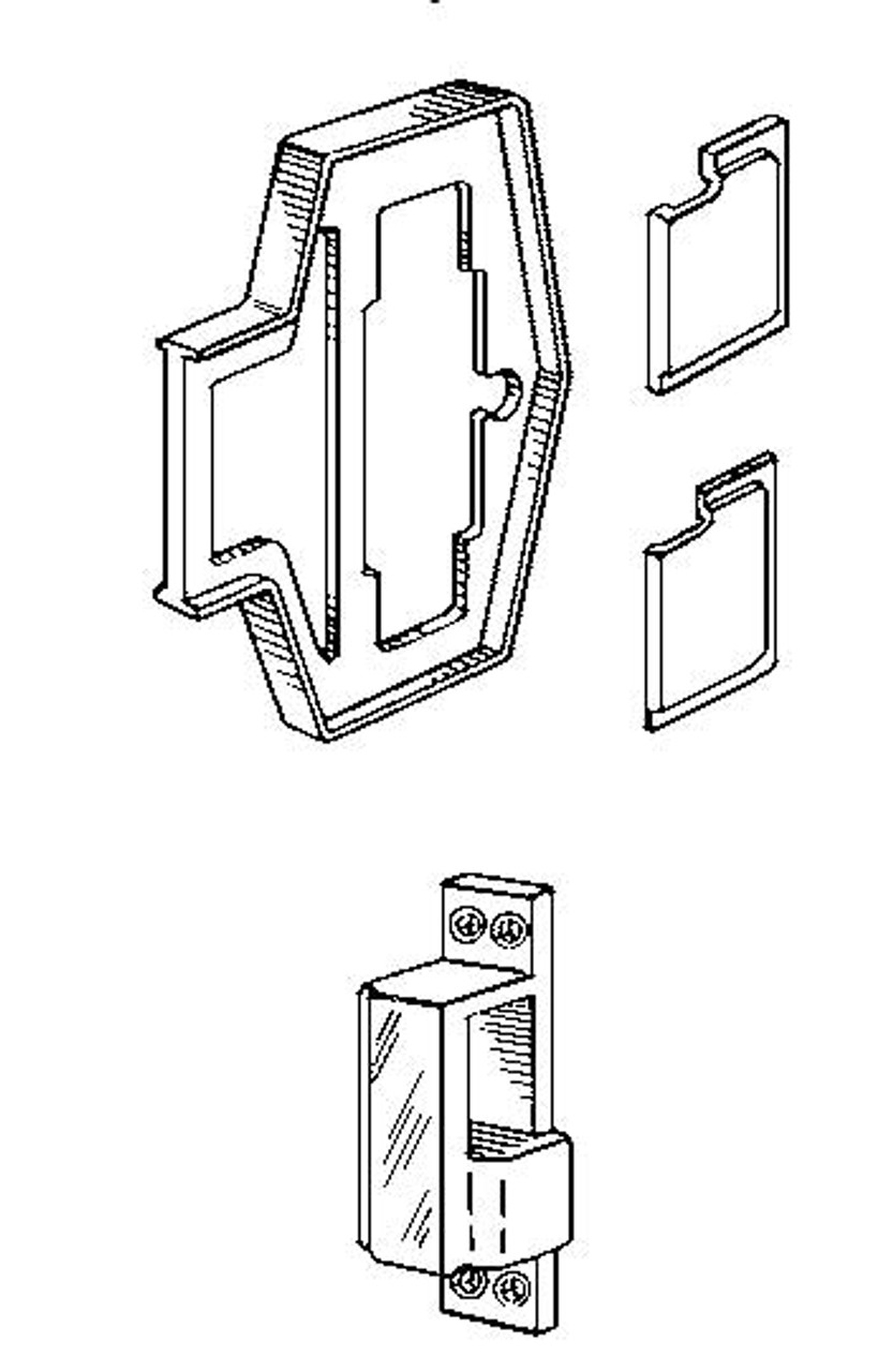 Simplex 800 kit for 900 series metal frames