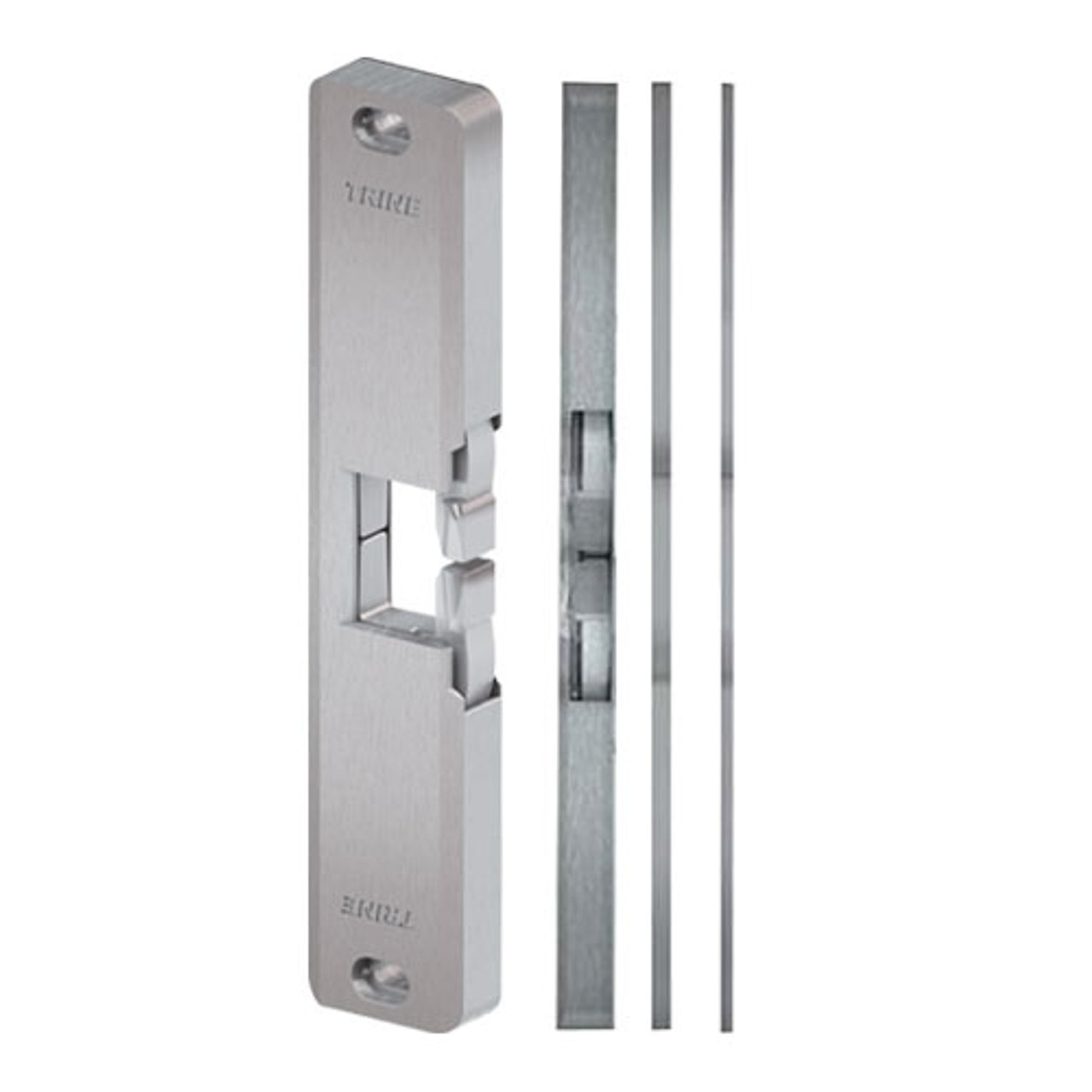 4850PoE-US32D Trine Low Current Draw Surface Mounted Electric Strike in Satin Stainless Steel