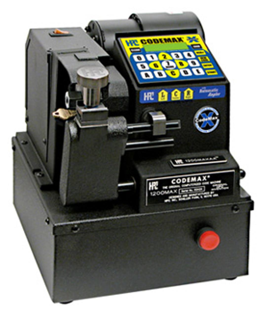 1200MAXAA HPC CodeMax Code Machine with automatic angler