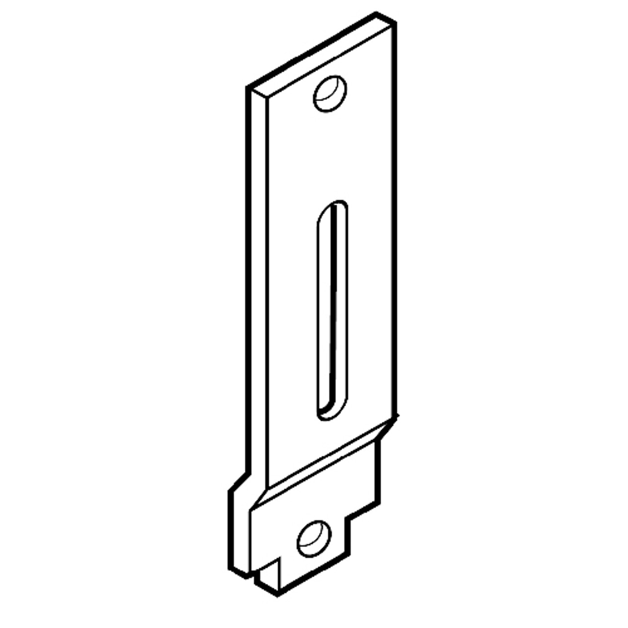 91-0966 Adams Rite Universal Mounting Tab Kit for Beveled Stiles