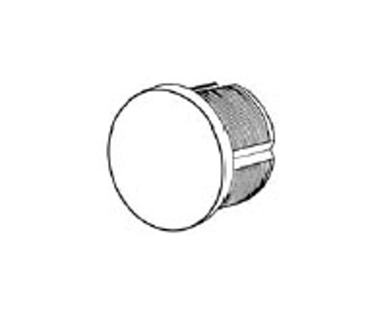 "ILCO 7200 1-1/4"" Dummy Mortise Cylinder"