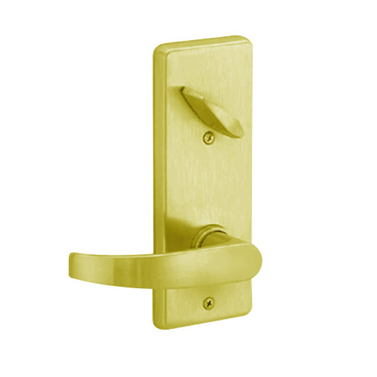 S290-NEP-605 Schlage S290 Neptune Style Interconnected Lock in Bright Brass