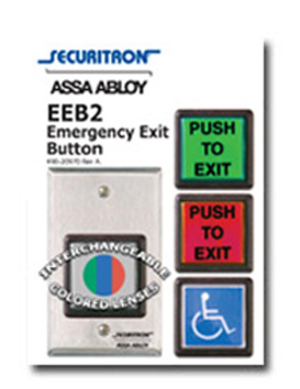 EEB2 Securitron Emergency Exit Button