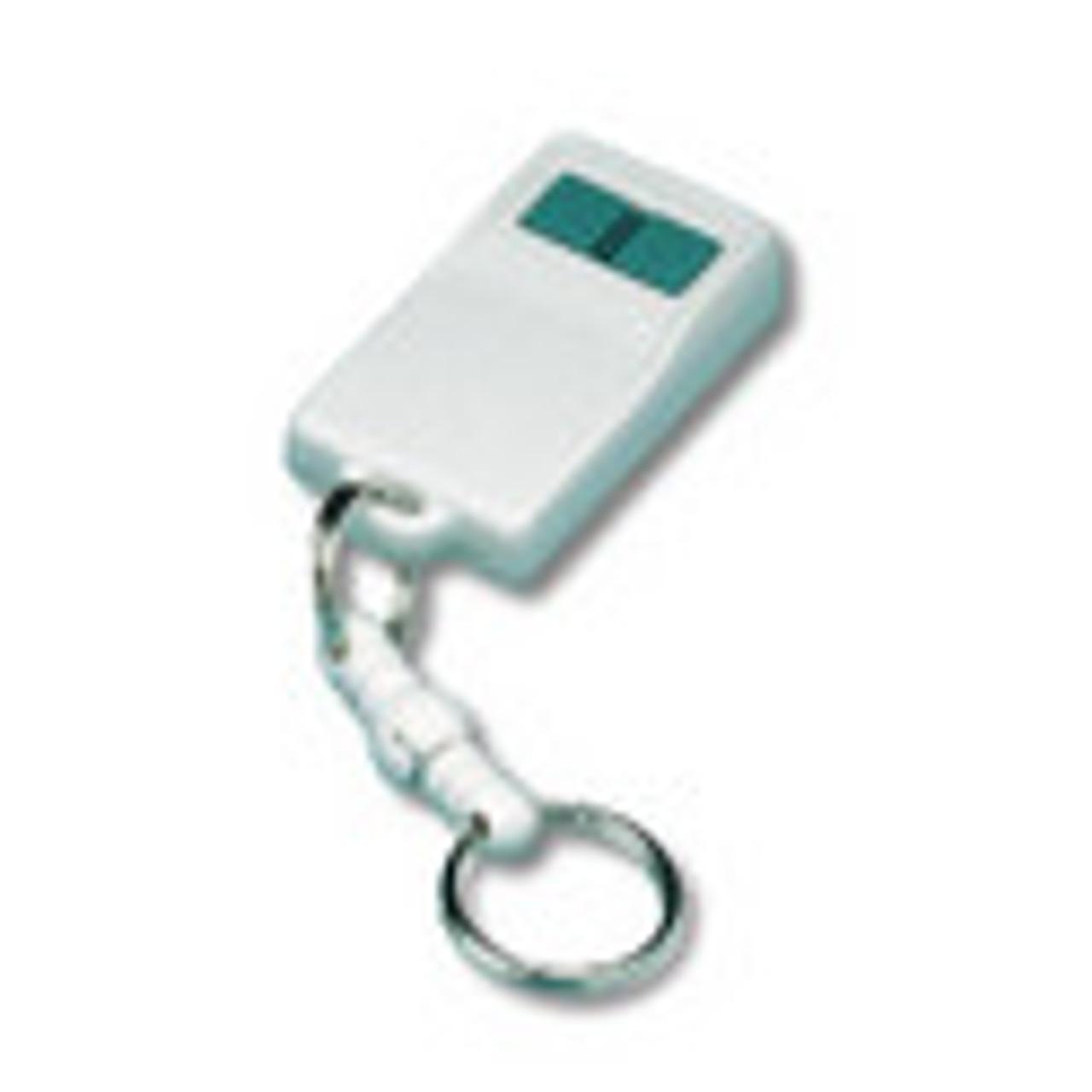 Linear DXT-42, 2-Button, 3-Channel Mini Remote Control