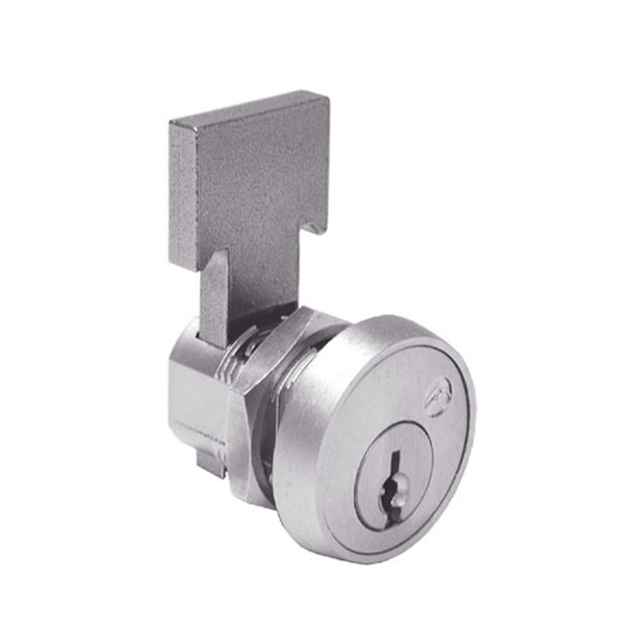 Olympus T37-KD-26D Cabinet Locks in Satin Chrome Finish