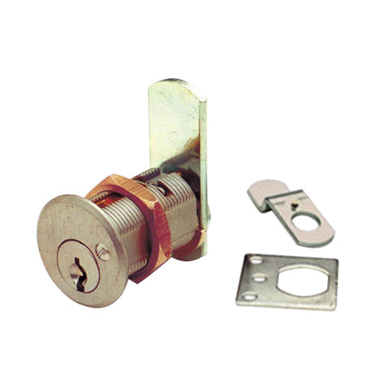 Olympus DCN4-KA101-US3 Cam Locks in Bright Brass Finish