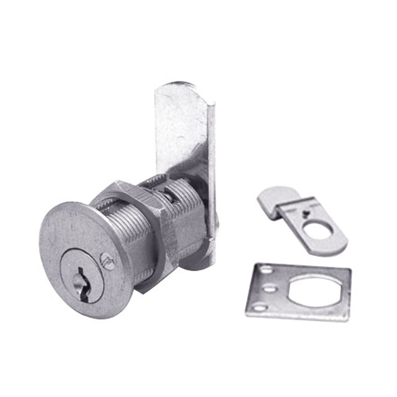 Olympus DCN1-KD-26D Cam Locks in Satin Chrome Finish