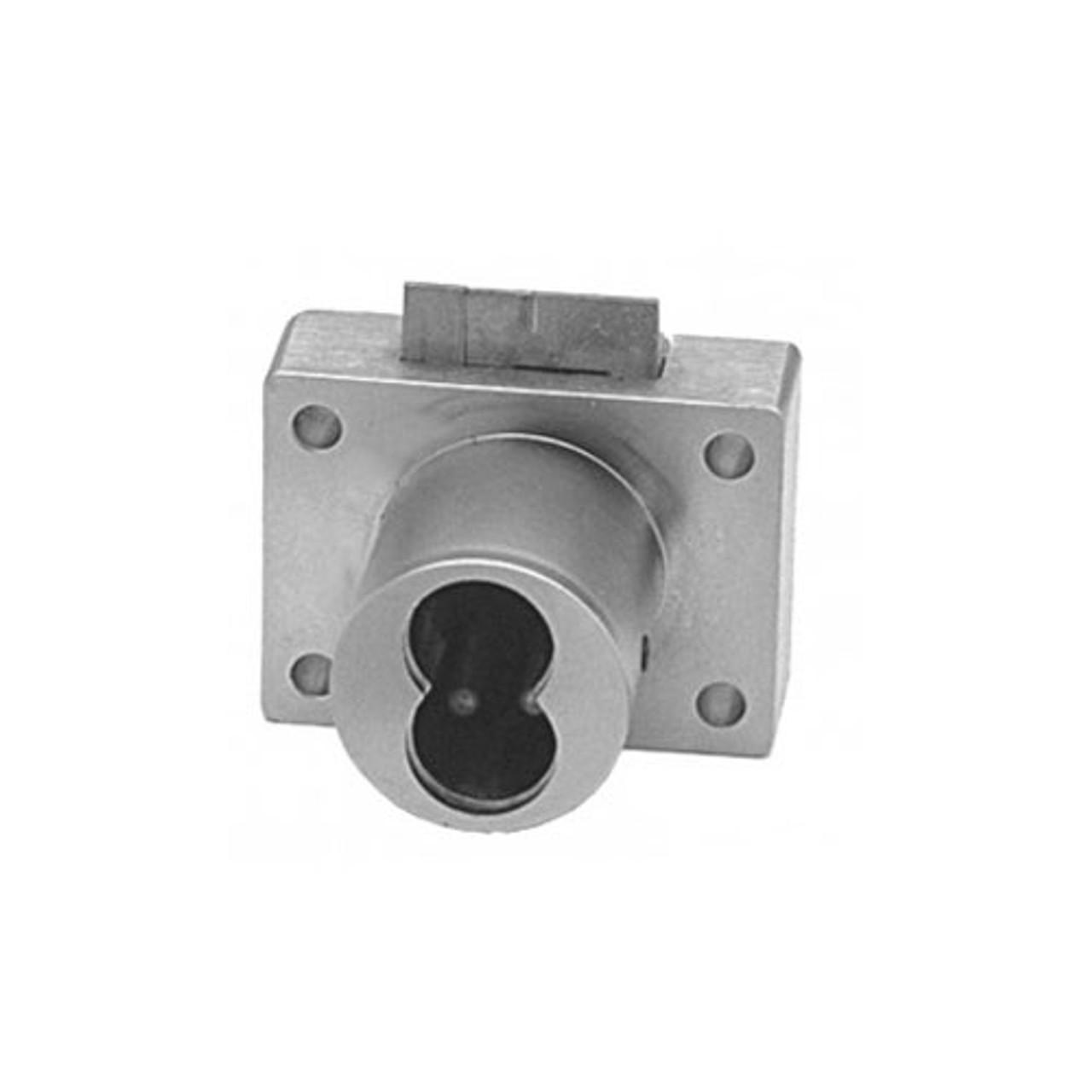 Olympus 950IC-26D Cabinet Locks in Satin Chrome Finish