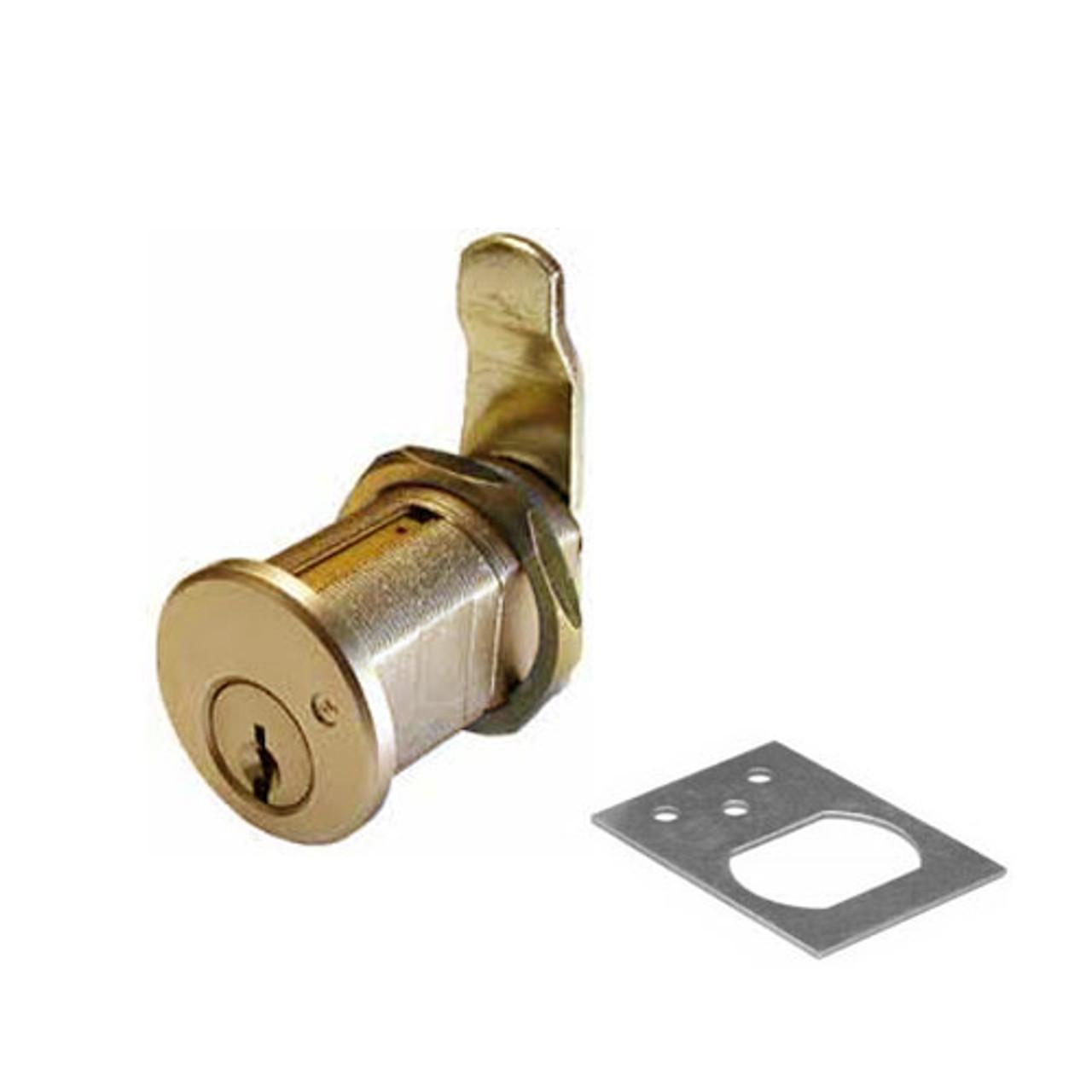 Olympus 820S-KD-US3 Cam Locks in Bright Brass Finish