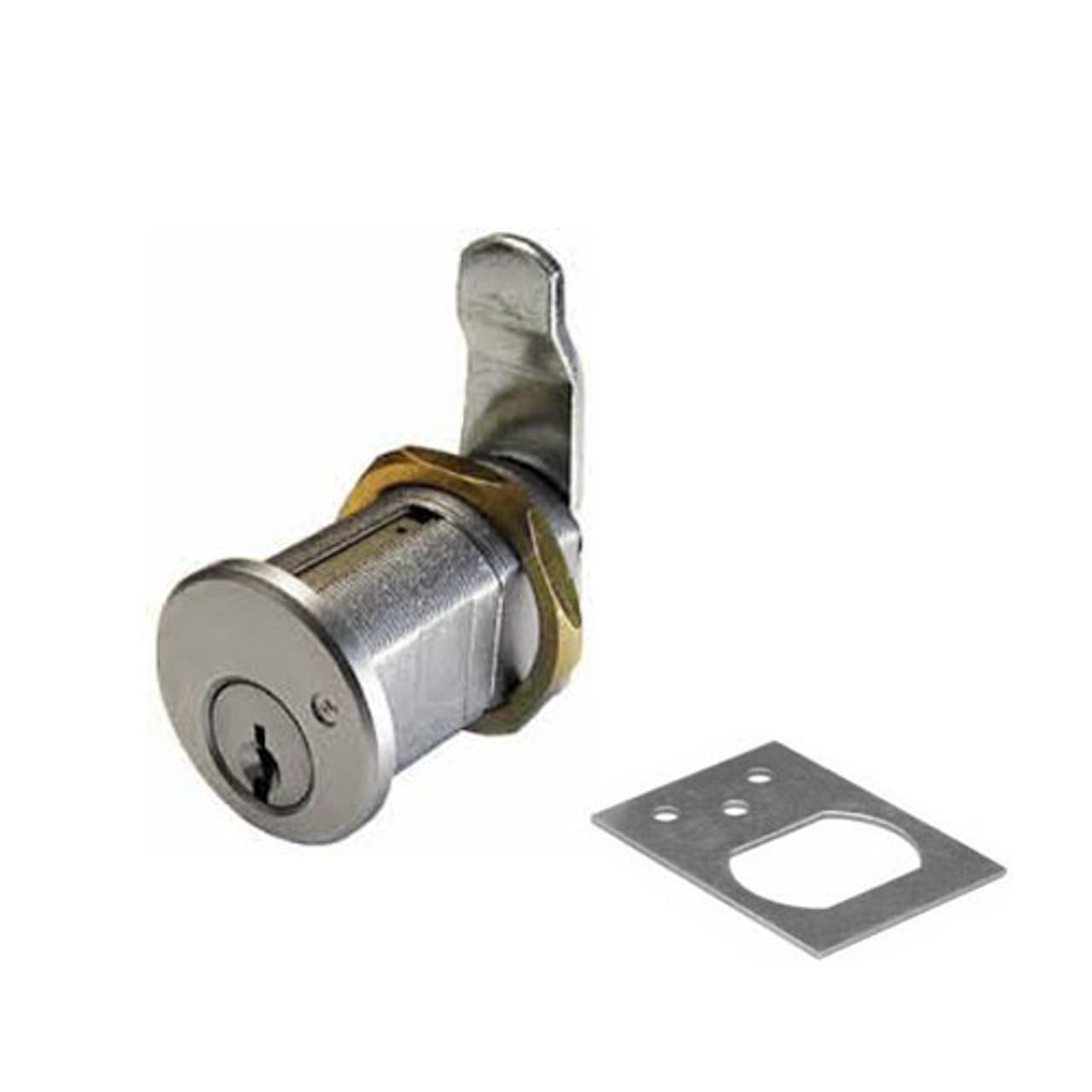 Olympus 820S-KD-26D Cam Locks in Satin Chrome Finish