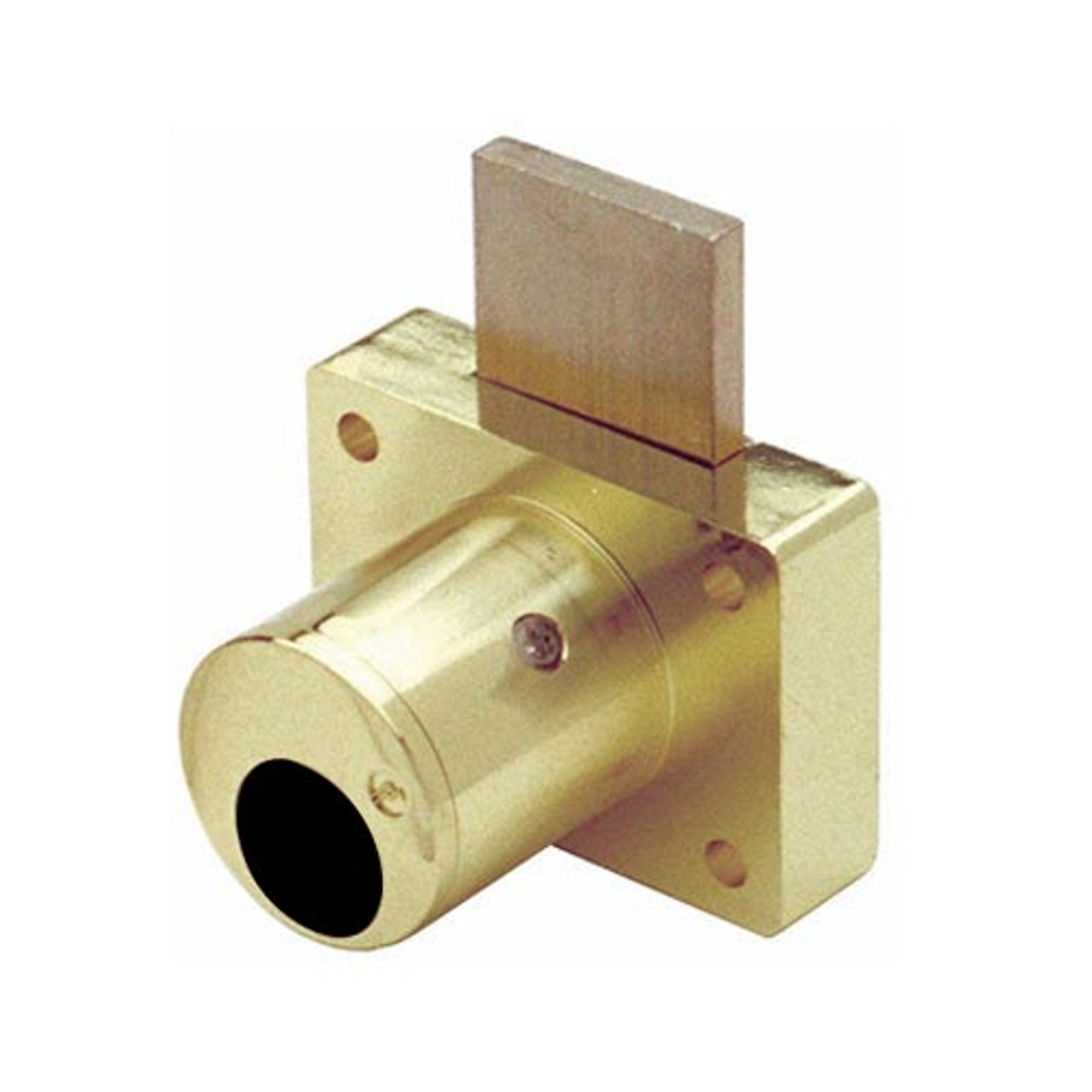 Olympus 800LCA-US3 Cabinet Drawer Deadbolt Less Cylinder Assa Lock in Bright Brass