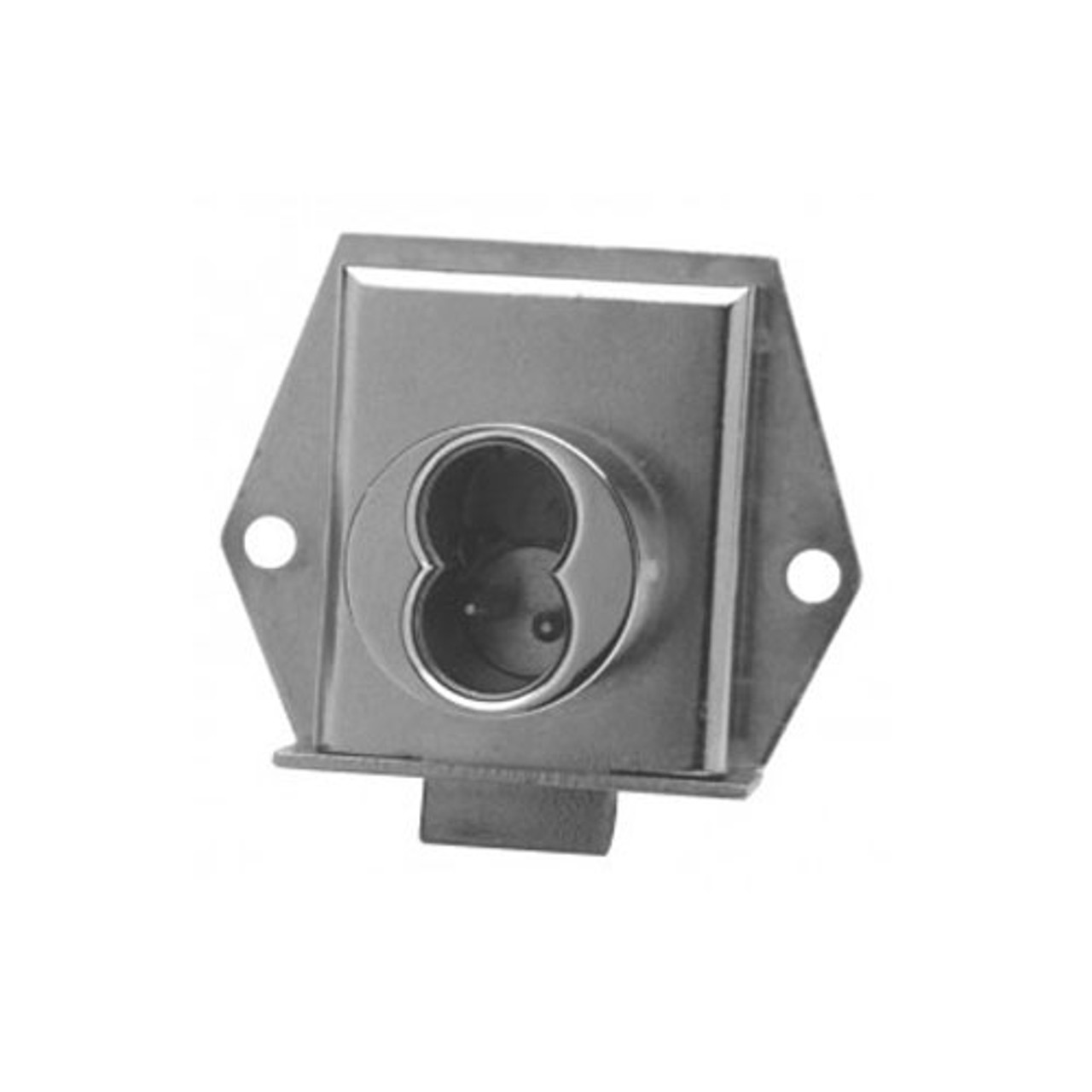 Olympus 725ML-DW-VH-26D Cabinet Locks in Satin Chrome Finish