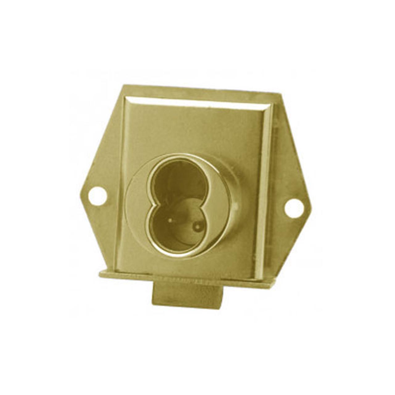Olympus 725ML-DR-LH-US4 Cabinet Locks in Satin Brass Finish