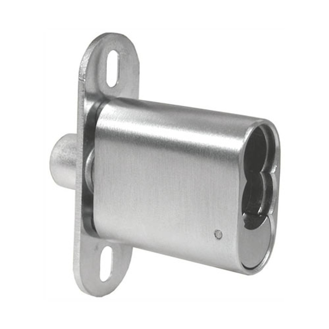 Olympus 722S-26D Cabinet Lock in Satin Chrome