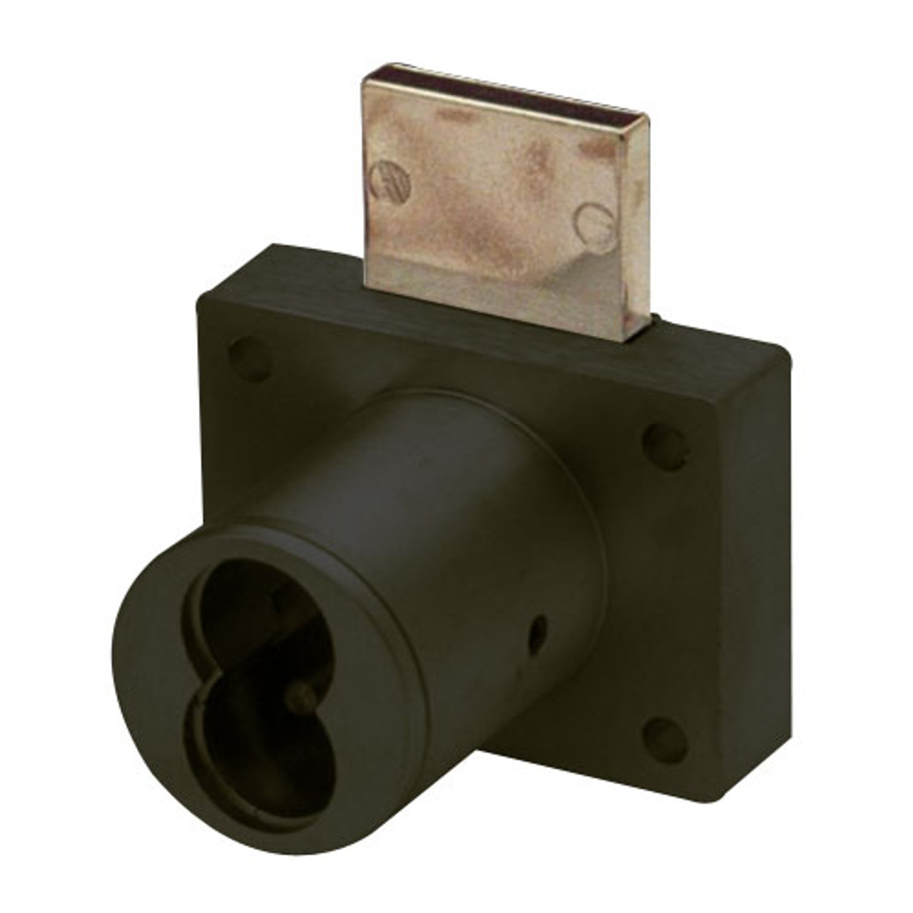 Olympus 721DW-10B Cabinet Drawer Lock in Oil Rubbed Bronze Finish