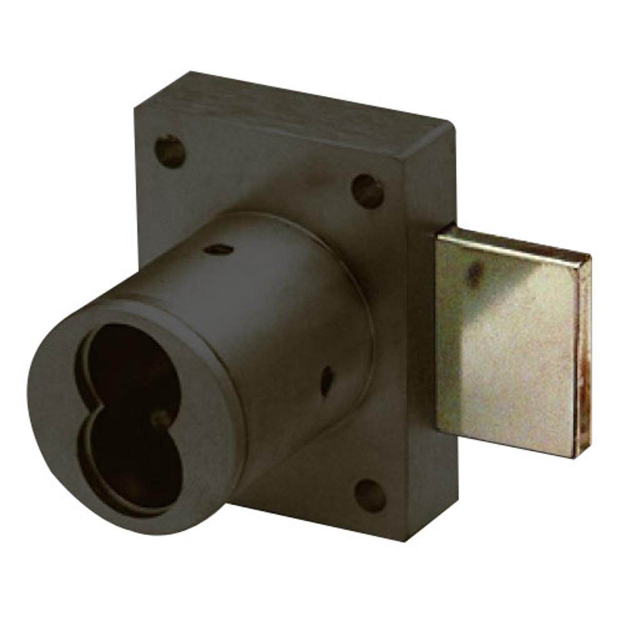 Olympus 721DR-10B Cabinet Door Lock in Oil Rubbed Bronze Finish