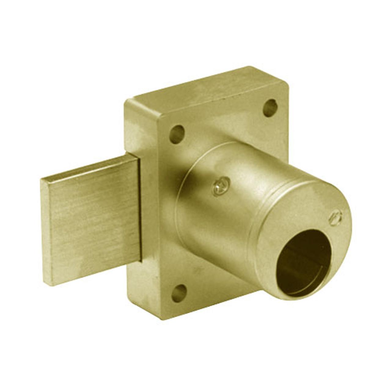 Olympus 700LCM-US3-1-3/8 Cabinet Door Locks in Bright Brass Finish