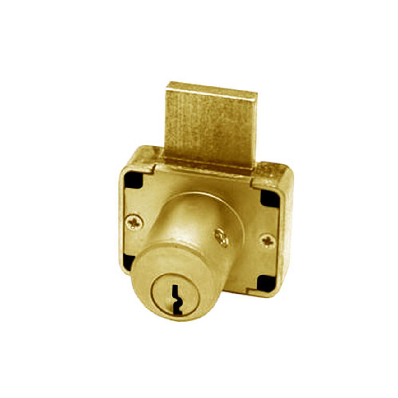 Olympus 600DW-KD-US4-7/8 Deadbolt Locks in Satin Brass Finish