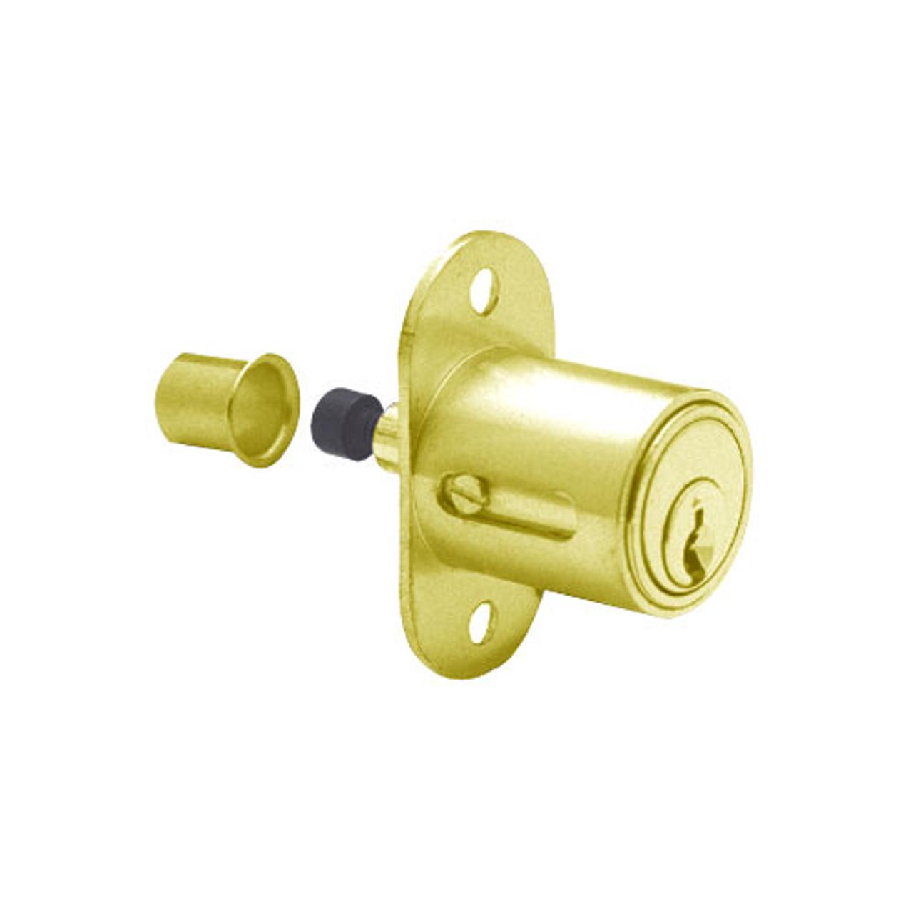 Olympus 400SD-KD-US3 Plunger Locks in Bright Brass Finish