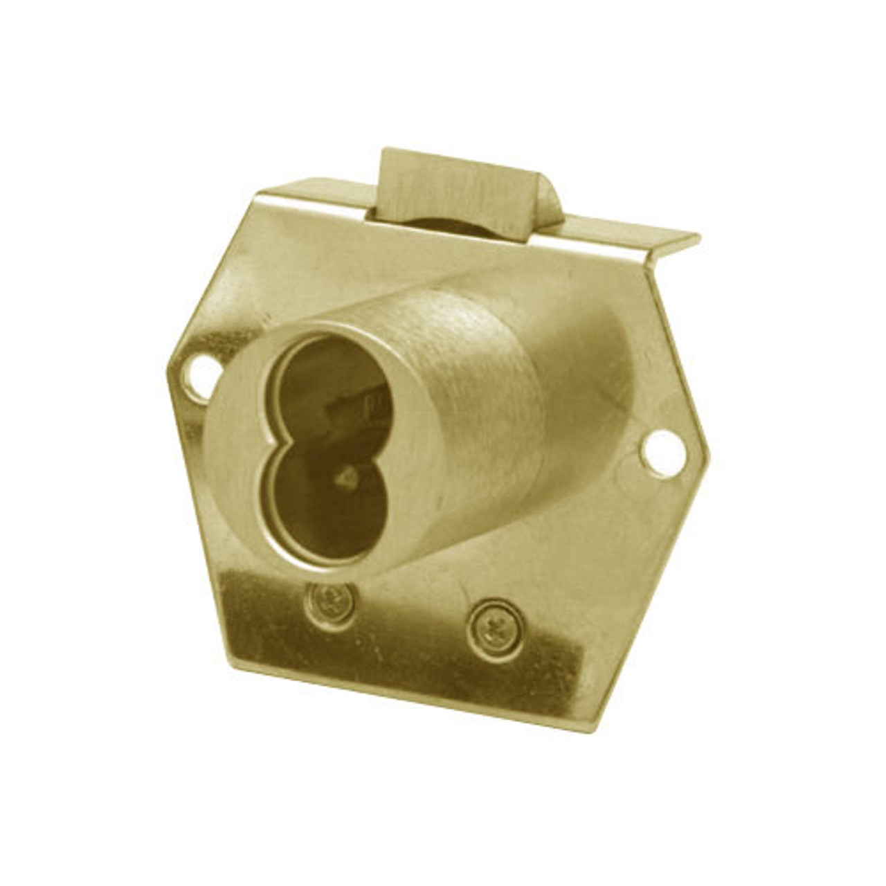 Olympus 725RL-DW-VH-US4 Cabinet Locks in Satin Brass Finish