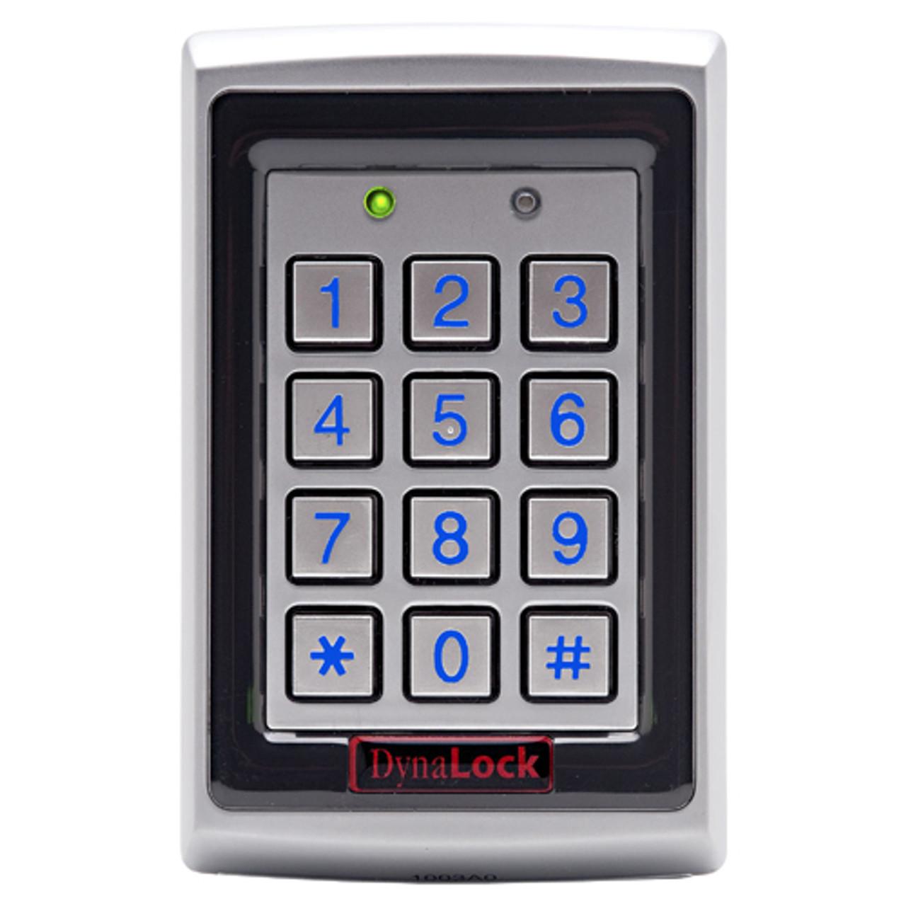 7500 DynaLock 7500 Series Standalone Digital Keypad and Prox Reader Single Gang Box-Mount