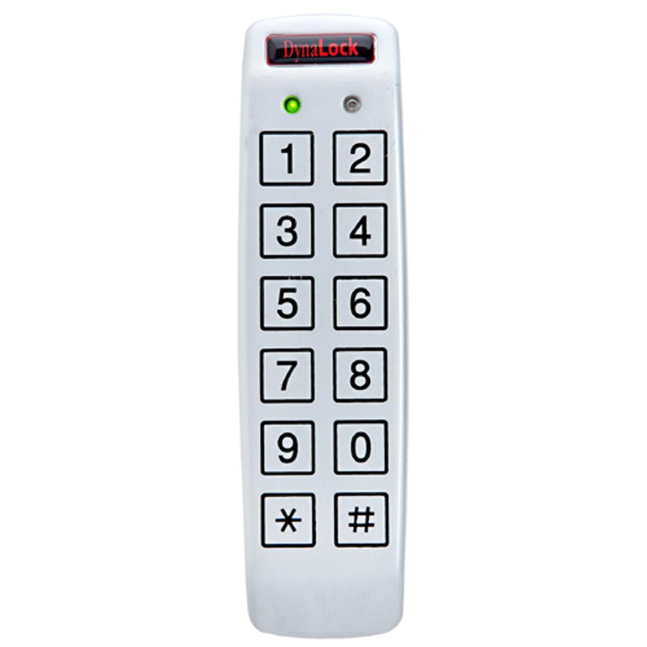 7350 DynaLock 7300 Series Standalone Digital Keypad Narrow Mullion Mount