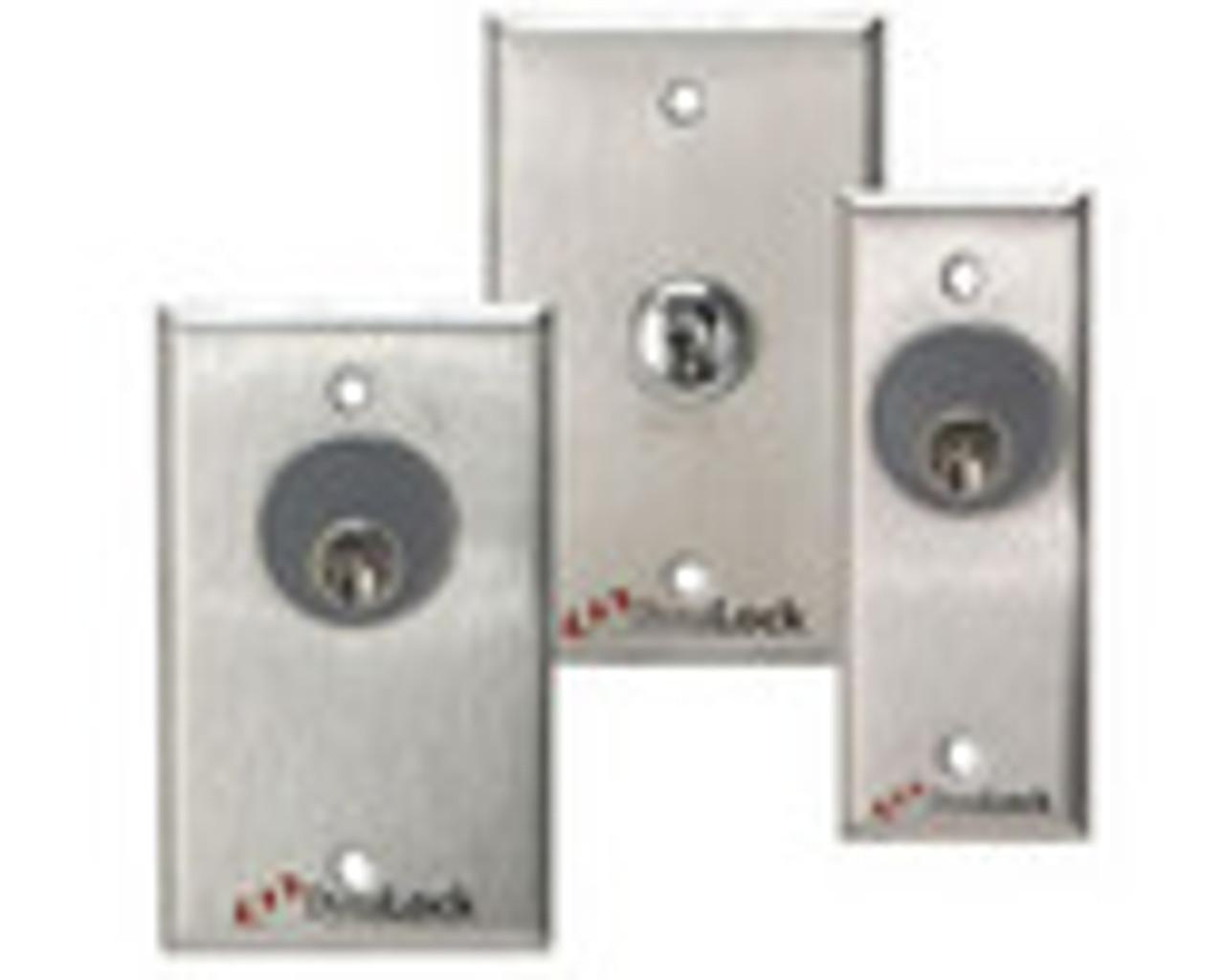 3002TJ32-US10B-DSM2 DynaLock 3000 Series 1500 LBs Double Electromagnetic Lock for Inswing Door with DSM in Oil Rubbed Bronze