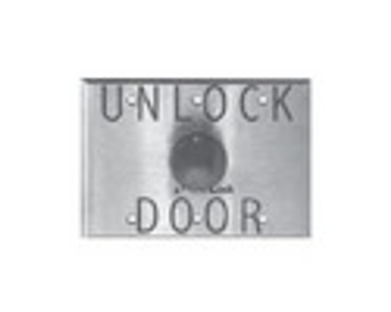 "DynaLock Pushbutton 1 -5/8"""" Td -6291"