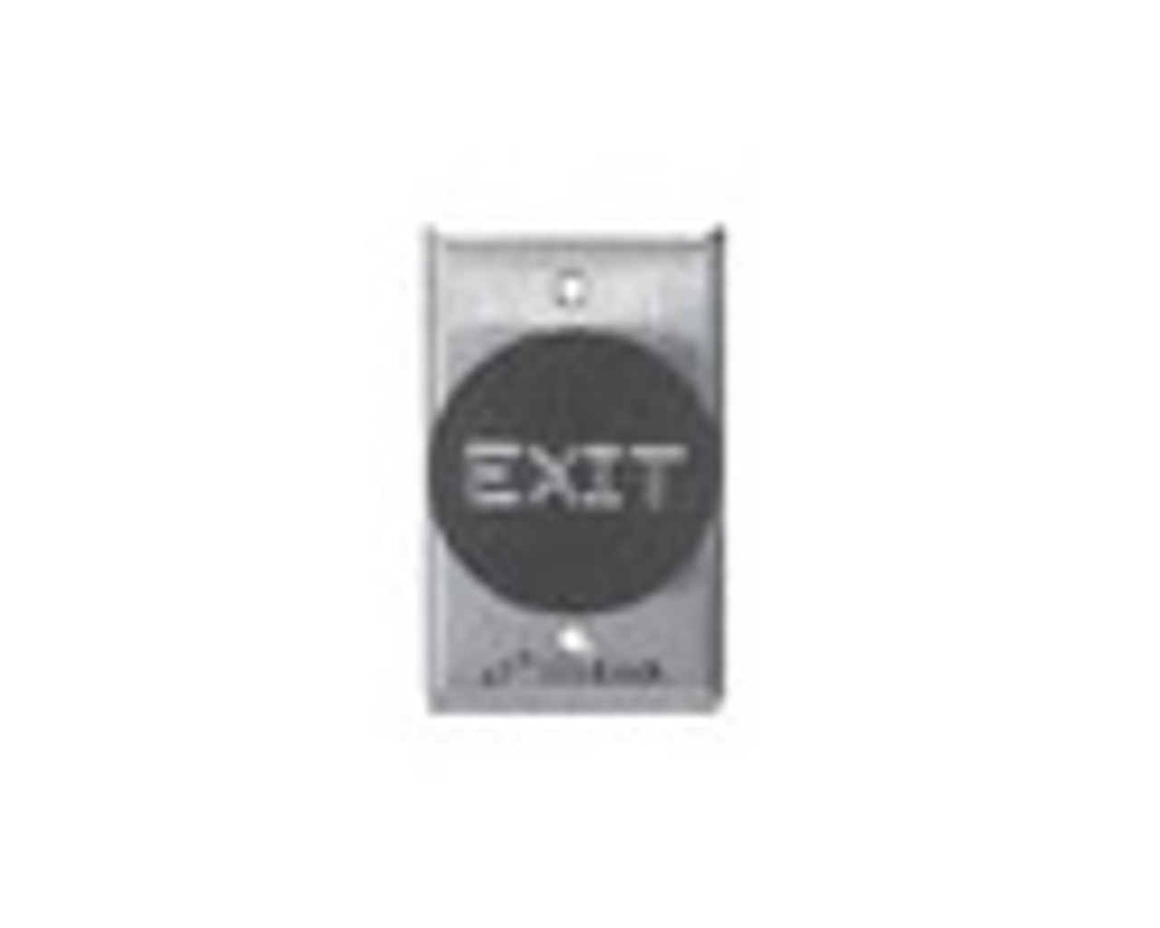 2280-US28 DynaLock 2280 Series Single SlimLine Electromagnetic Lock for Outswing Door in Satin Aluminum