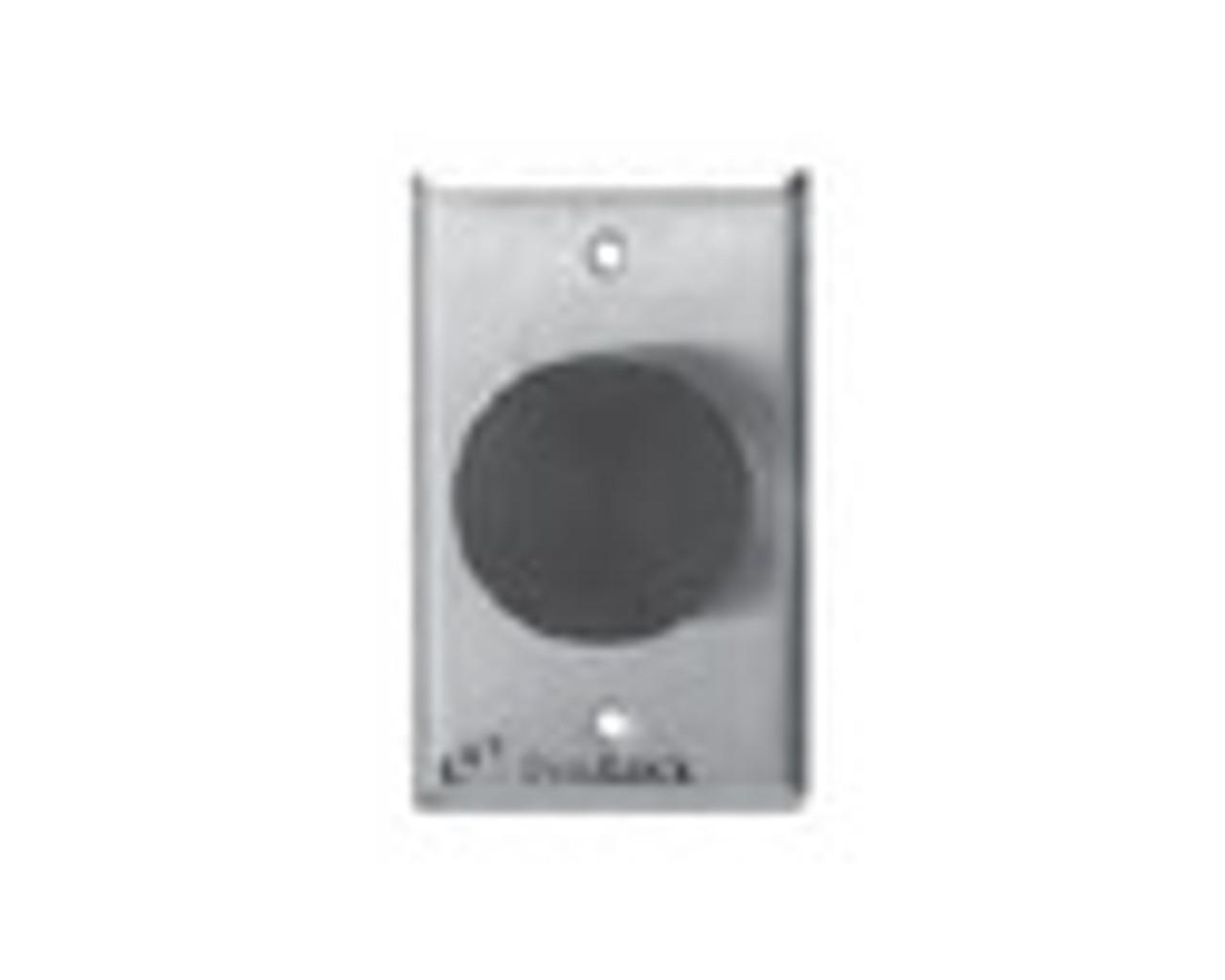 2280-US26 DynaLock 2280 Series Single SlimLine Electromagnetic Lock for Outswing Door in Bright Chrome