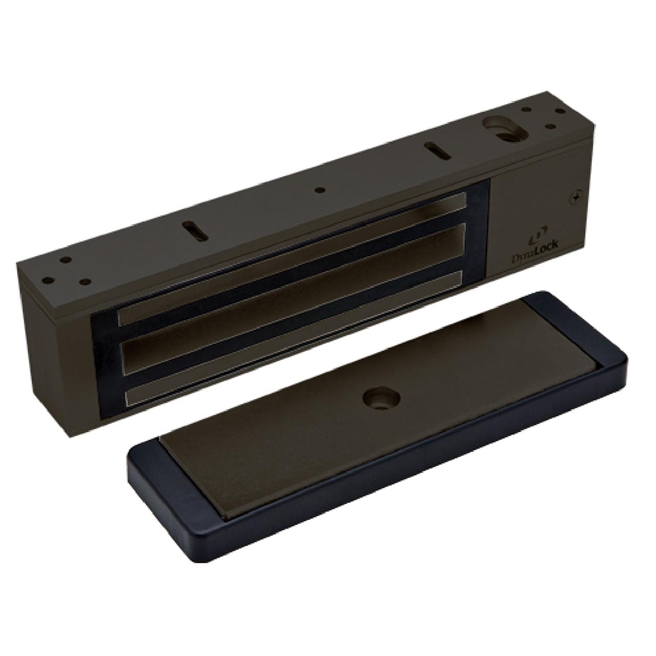 2011TJ20-US10B DynaLock 2000 Series 1200 LB Holding Force Single Inswing Electromagnetic Lock in Oil Rubbed Bronze