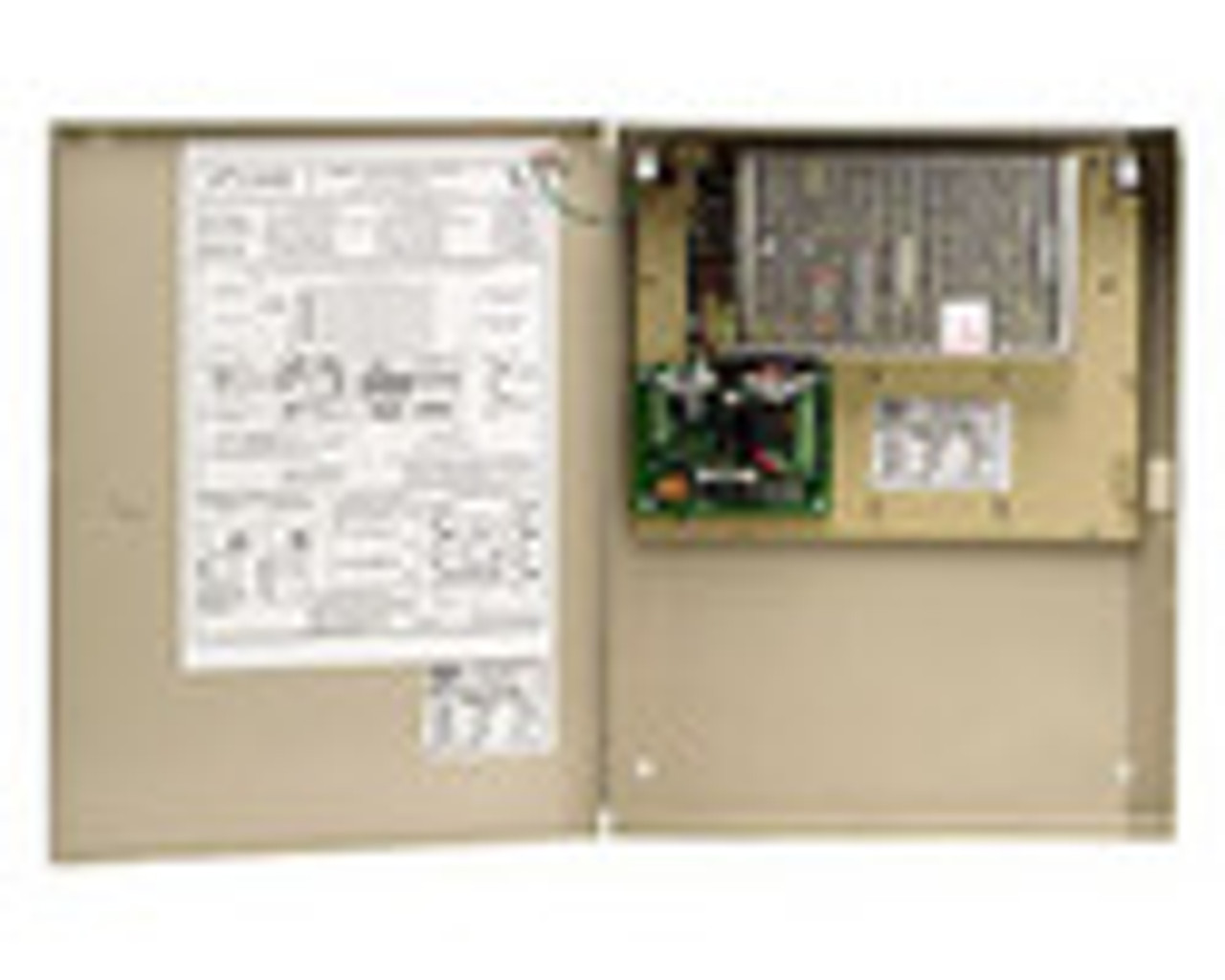 5600-12-FACMR DynaLock Multi Zone Heavy Duty 12 VDC Power Supply with Fire Alarm Module with Manual Reset