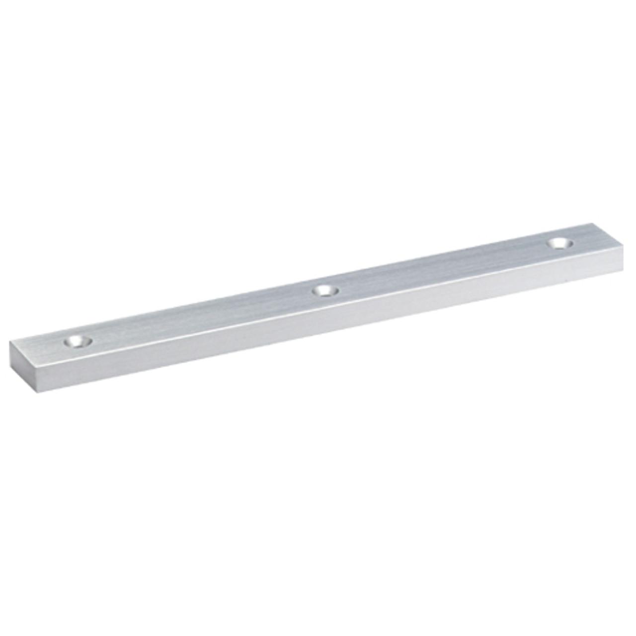 4414-US26 DynaLock 4000 Series Filler Plates for Single Maglocks in Bright Chrome