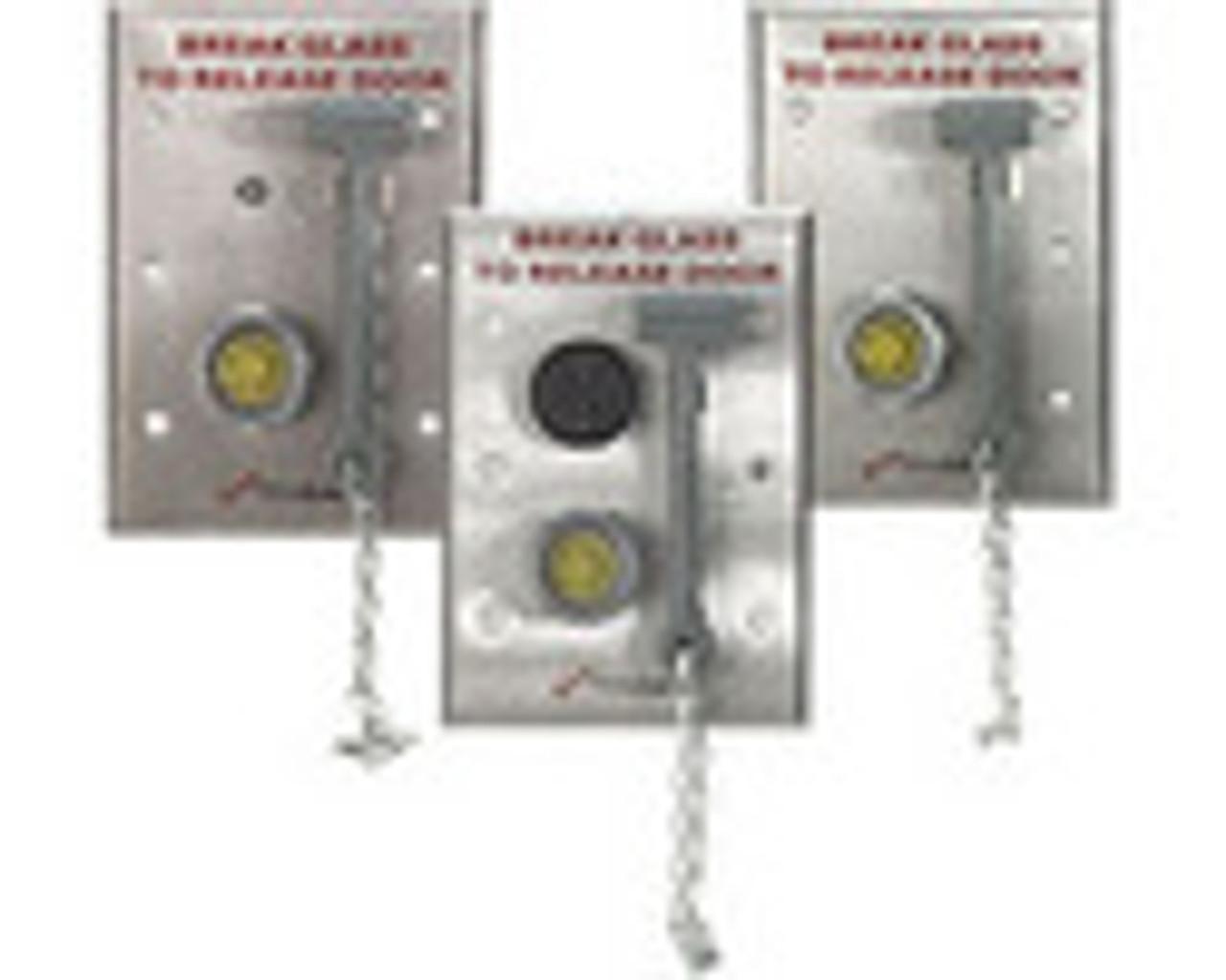 3101C-US28 DynaLock 3101C Series Delay Egress Electromagnetic Lock for Single Outswing Door in Satin Aluminum