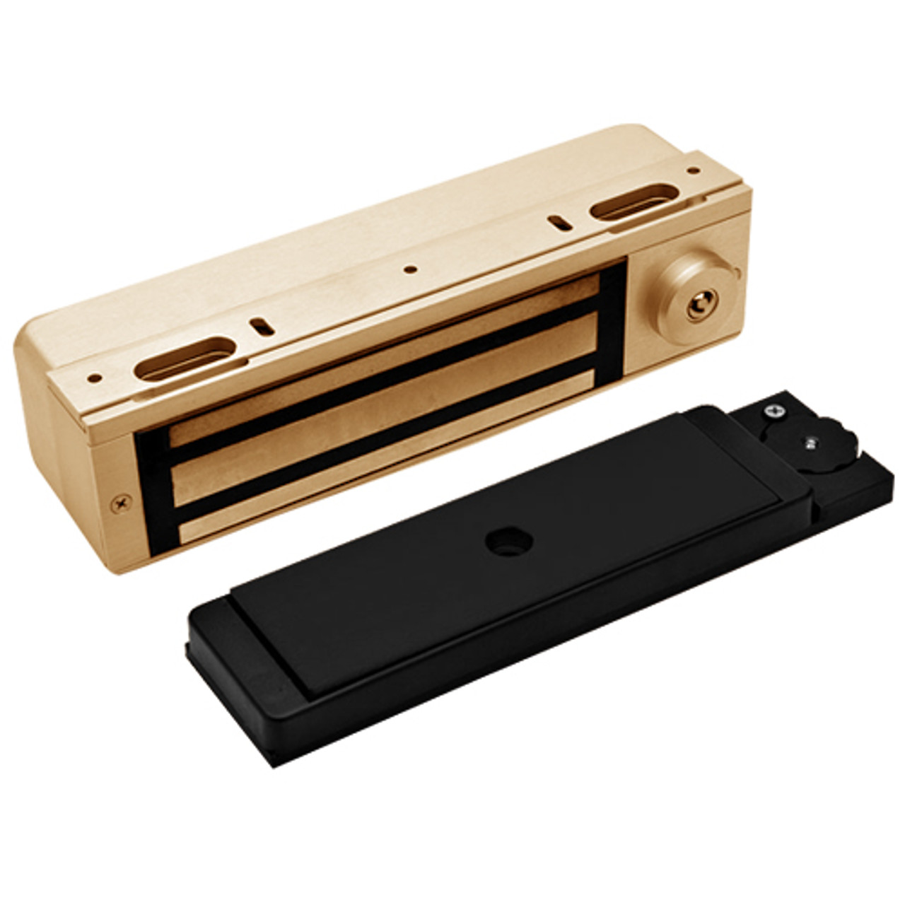 3101C-ATS-US10 DynaLock 3101C Series Delay Egress Electromagnetic Lock for Single Outswing Door with ATS in Satin Bronze