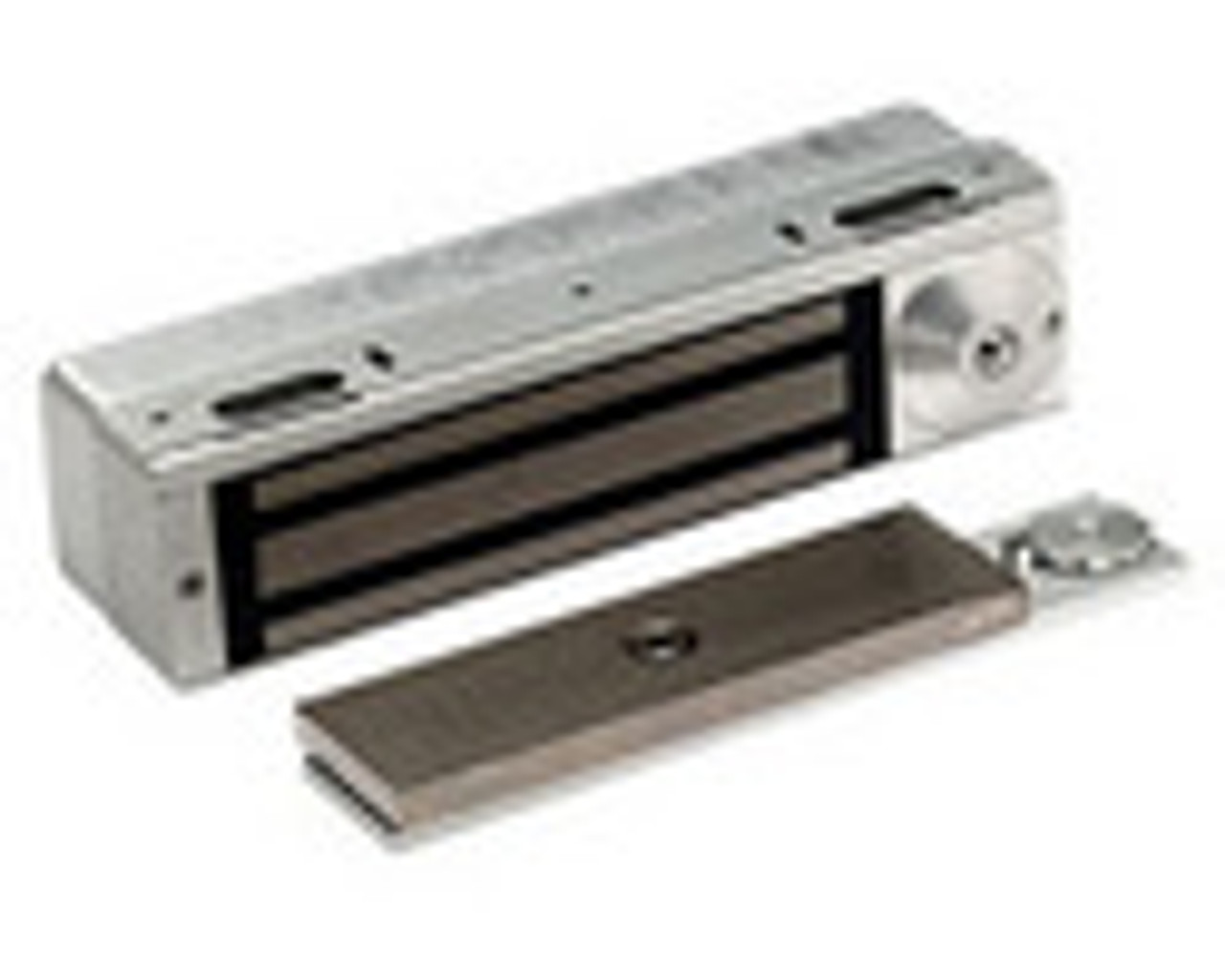 3101C-BMP-US28 DynaLock 3101C Series Delay Egress Electromagnetic Lock for Single Outswing Door with BPM in Satin Aluminum