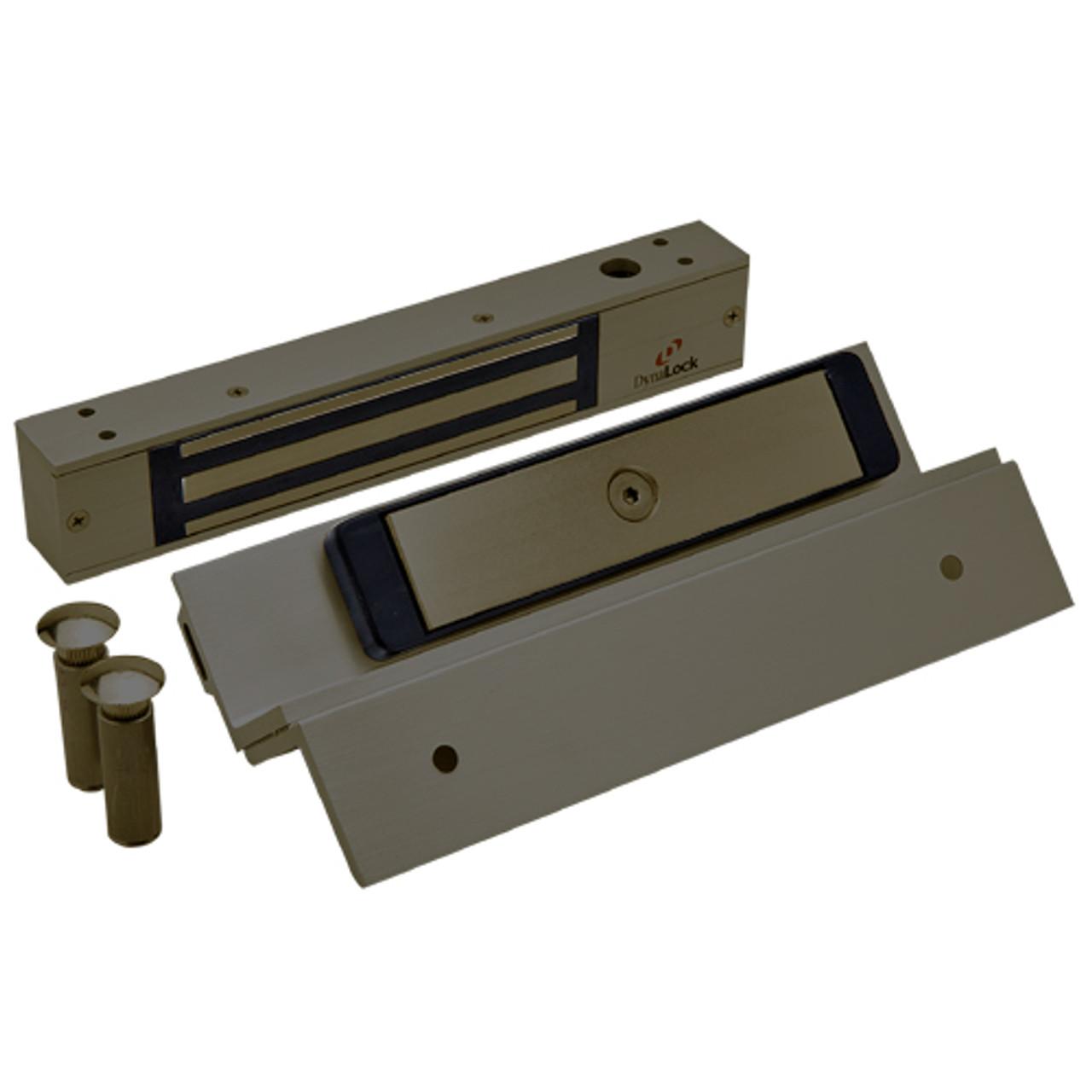 2511TJ-US10B DynaLock 2500 Series 650 LB Mini-Mag Single Electromagnetic Lock for Inswing Door in Oil Rubbed Bronze