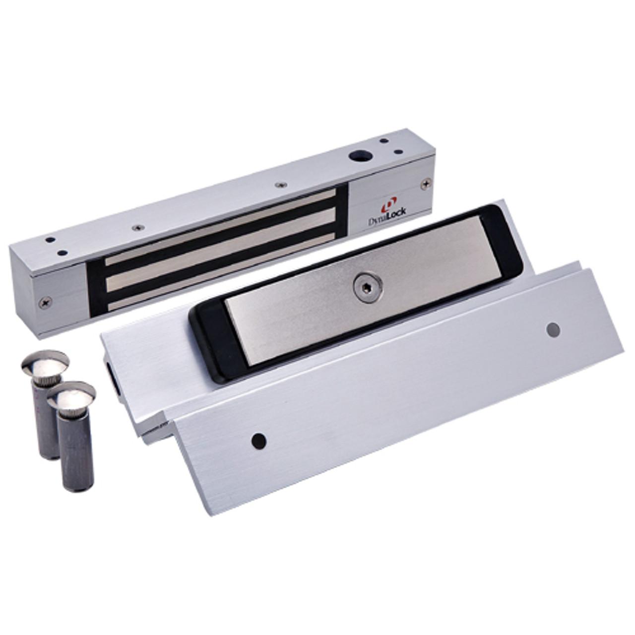 2511TJ-US26 DynaLock 2500 Series 650 LB Mini-Mag Single Electromagnetic Lock for Inswing Door in Bright Chrome