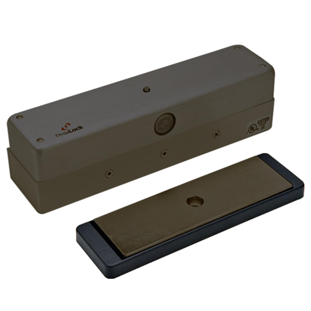 3006-US10B DynaLock 3006 Series 1500 LBs Single Outswing Free Egress Electromagnetic Lock in Oil Rubbed Bronze
