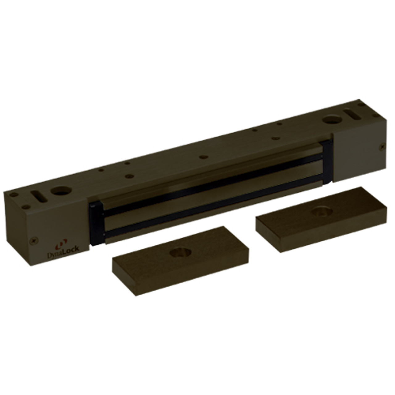 2268-15-US10B DynaLock 2268 Series Single Classic Low Profile Electromagnetic Lock for Pair Outswing Door in Oil Rubbed Bronze