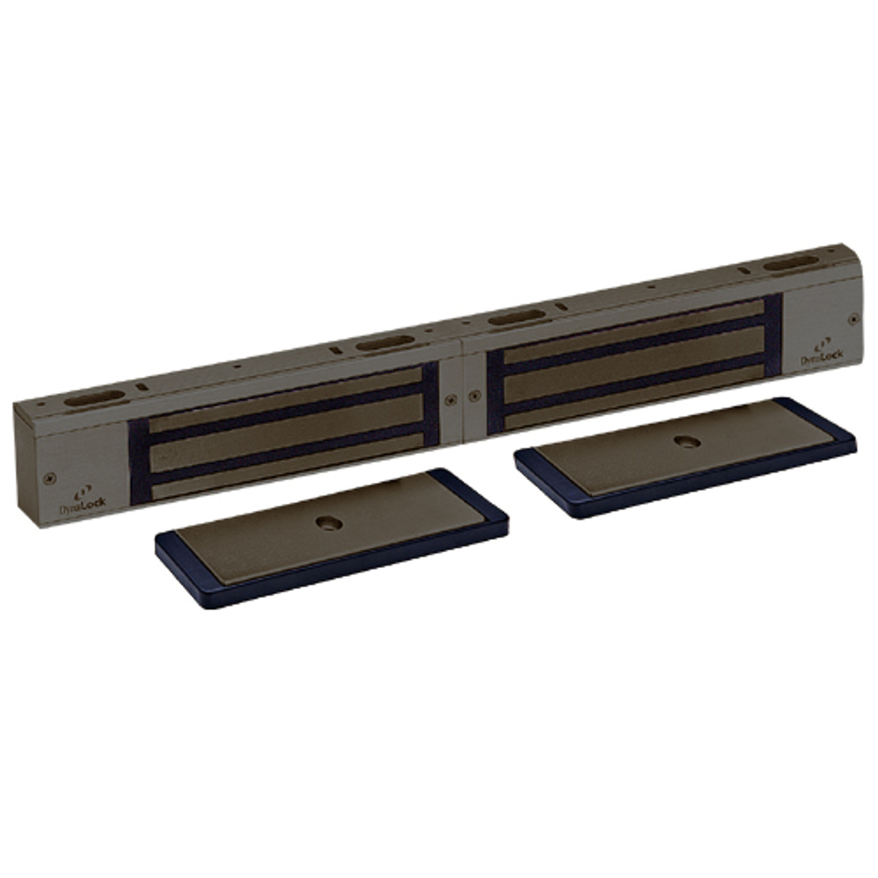 3002-US10B-HSM2 DynaLock 3000 Series 1500 LBs Double Electromagnetic Lock for Outswing Door with HSM in Oil Rubbed Bronze