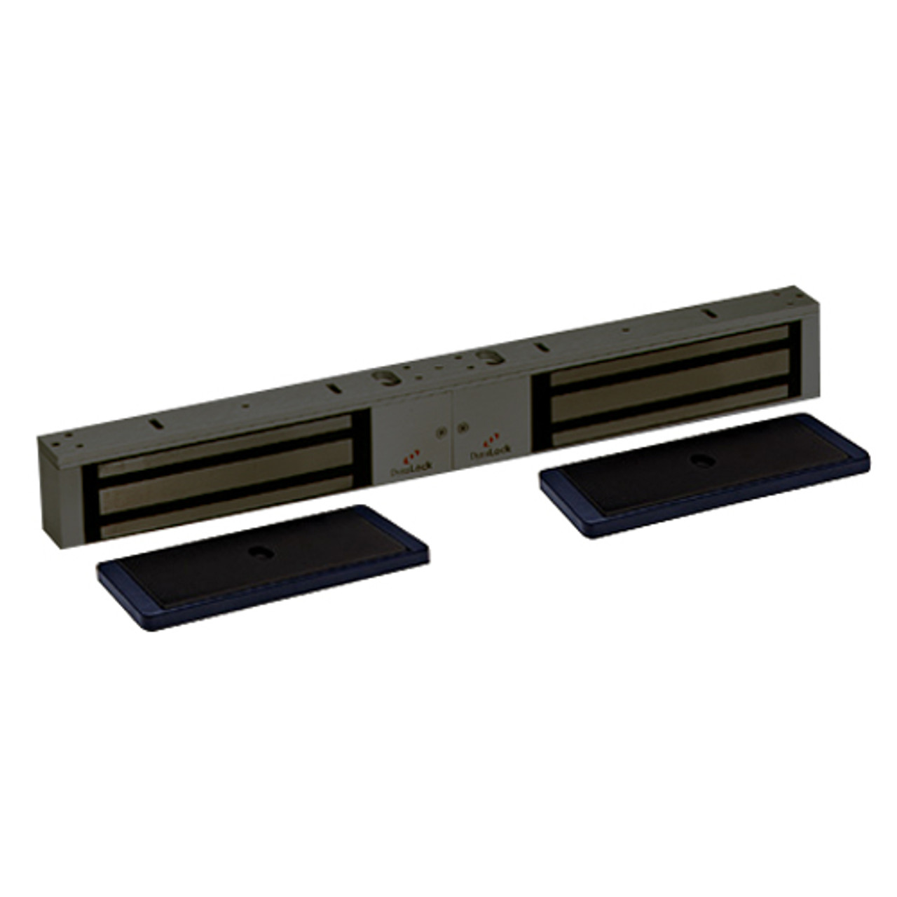 2022-US10B-HSM2 DynaLock 2000 Series 1200 LB Holding Force Double Electromagnetic Lock with High Security Monitor in Oil Rubbed Bronze