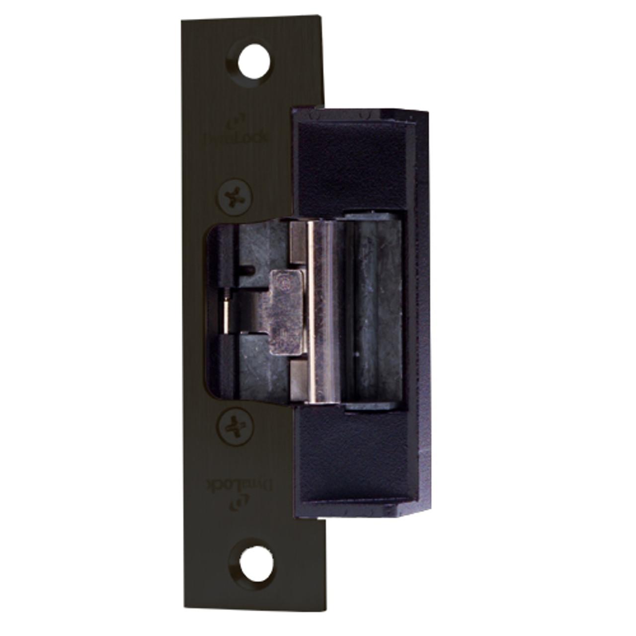 1614S-US10B DynaLock 1600 Series Electric Strike for Standard Profile in Oil Rubbed Bronze