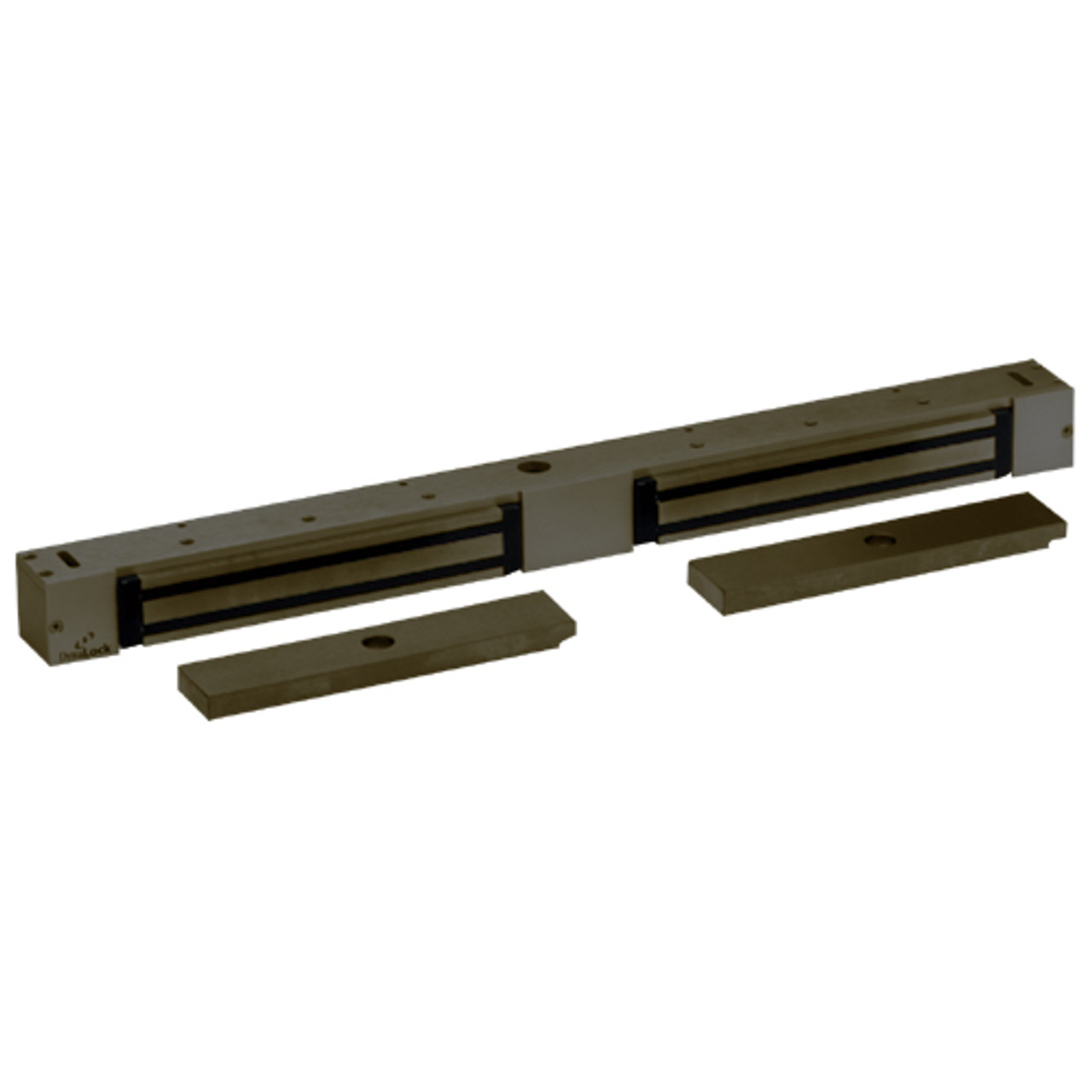 2268-20-US10B DynaLock 2268 Series Double Classic Low Profile Electromagnetic Lock for Outswing Door in Oil Rubbed Bronze